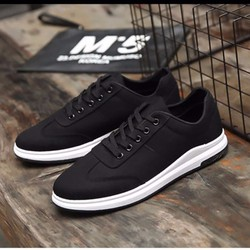 Giày nam sneaker hàn quốc đen