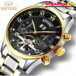Đồng hồ cơ Kinyued kính tráng Sapphire đẳng cấp Doanh Nhân PMD057