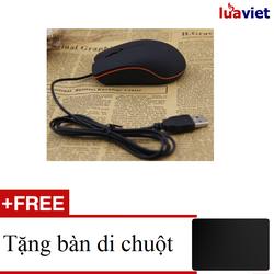 Chuột Quang Có Dây Mini M20 Tặng miếng Lót Chuột