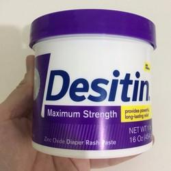 Kem trị hăm tả cho bé Desitin Maximum Strength 454g từ Mỹ