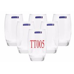 Combo 10 ly thủy tinh Luminarc cao cấp 350ml màu trắng