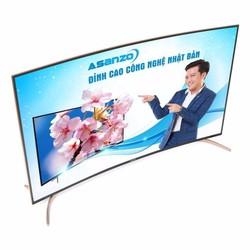 TIVI 4K MÀN HÌNH CONG ASANZO SU55S6 internet DVBT2