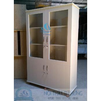 Tủ hồ sơ văn phòng bằng gỗ giá rẻ tại hcm