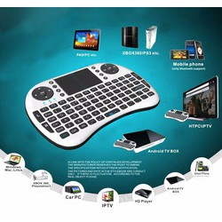 Bàn Phím Chuột Wireless Cho Smart Tivi