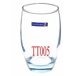 Combo 10 ly thủy tinh cao cấp Luminarc 350ml màu xanh