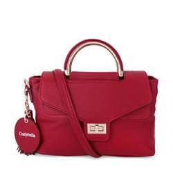 Túi xách Cindydrella quai phối kim loại BAG2O - màu Đỏ