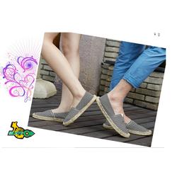Giày vải nam nữ đế cói size 35 đến 44