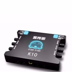 Sound Card Âm Thanh XOX K10 Phiên Bản Tiếng Anh là XOX KS108