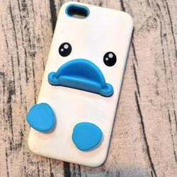 Ốp lưng Iphone 5 5s hình vịt mỏ xanh