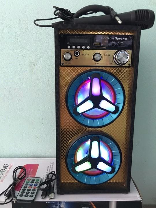 Loa karaoke - loa bluetooth karaoke mini tặng miicro 1