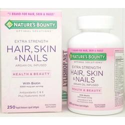 Hair skin and nails 5000 mcg of Biotin 250 viên đẹp da móng tóc