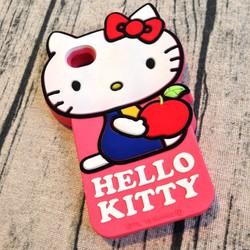 Ốp lưng Iphone 4 4s hình hello kitty. ôm táo