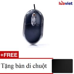 Chuột Quang có dây LvTech X10 mini Led Tặng miếng Lót Chuột