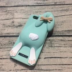 Ốp lưng Iphone 6 6s hình thỏ Moschino.