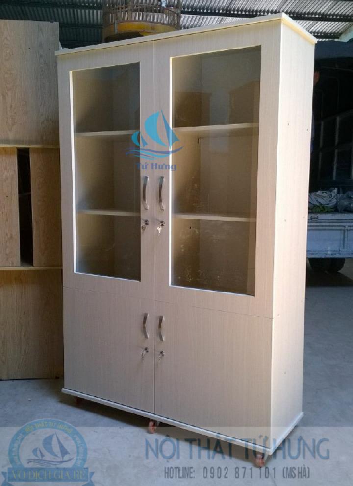 Tủ hồ sơ văn phòng bằng gỗ giá rẻ tại hcm 1