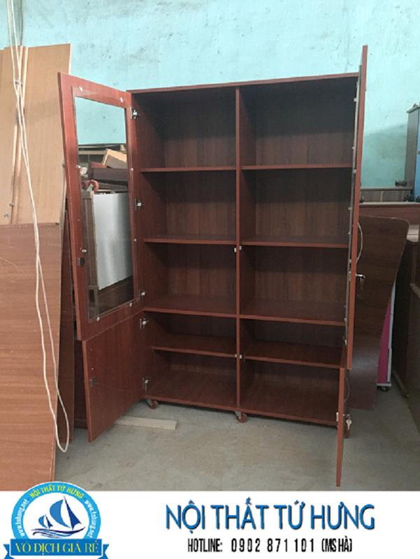 Tủ hồ sơ văn phòng bằng gỗ giá rẻ tại hcm 4