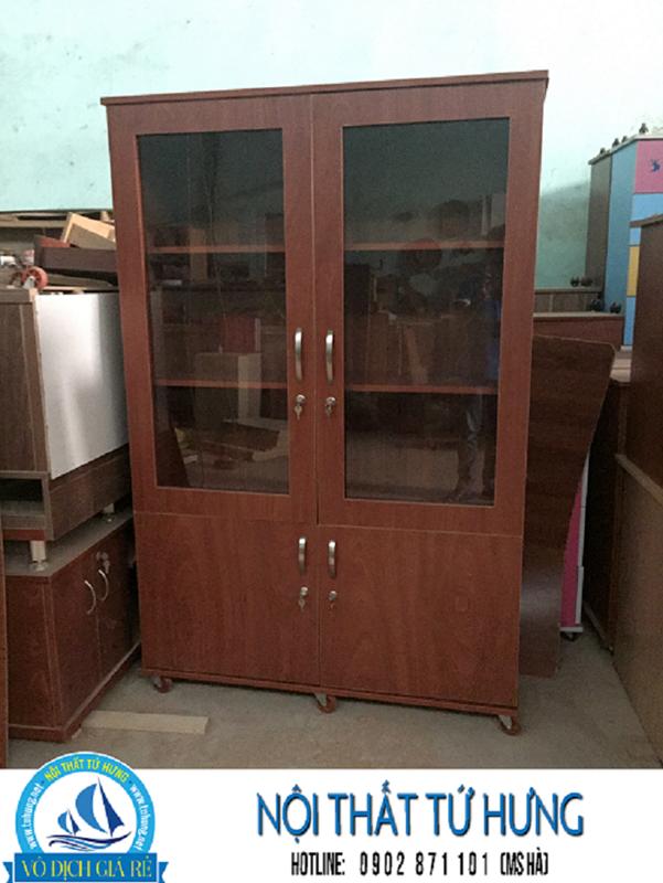 Tủ hồ sơ văn phòng bằng gỗ giá rẻ tại hcm 3
