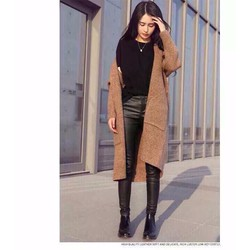 Áo khoác len, cardigan dài