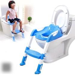 Bô vệ sinh bậc thang xếp gọn có đế chống trượt cao cấp cho bé