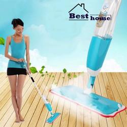 Cây lau nhà, lau sàn gỗ - Chổi lau nhà phun nước Spray Mop
