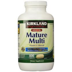 Viên bổ sung Vitamin cho người trên 50 tuổi Kirkland Mature Multi
