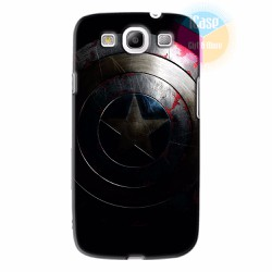 Ốp lưng Samsung Galaxy S3 in hình Captian America