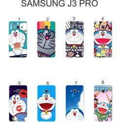 Ốp lưng Samsung Galaxy J3 Pro dẻo in hình Doraemon