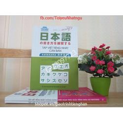 Tập viết tiếng Nhật căn bản Katakana – Có tiếng Việt