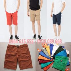 Quần shorts kaki xuất khẩu