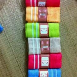 combo 10 khăn mặt sang anh- giá niêm yết 25k 1c  giá bán chỉ 125k 10c
