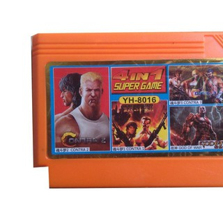 Băng game nhựa 4 in 1 Super game Contra - Băng game nhựa 4 in thumbnail
