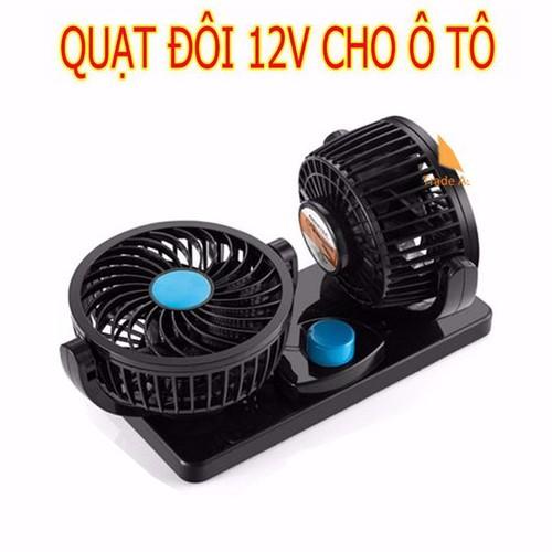 Quạt điện 12V sạc xe ô tô, xe hơi Quạt máy đôi ô tô, Quạt thông gió - 5057512 , 6581939 , 15_6581939 , 199000 , Quat-dien-12V-sac-xe-o-to-xe-hoi-Quat-may-doi-o-to-Quat-thong-gio-15_6581939 , sendo.vn , Quạt điện 12V sạc xe ô tô, xe hơi Quạt máy đôi ô tô, Quạt thông gió