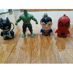 Bộ móc khóa 5 siêu anh hùng