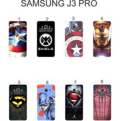 Ốp lưng Samsung Galaxy J3 Pro dẻo in hình Siêu Anh Hùng