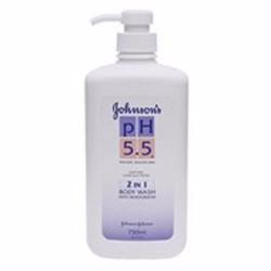 Sữa tắm dưỡng ẩm Johnon  Johnson pH 5.5 chứa kem dưỡng ẩm chai 750ml