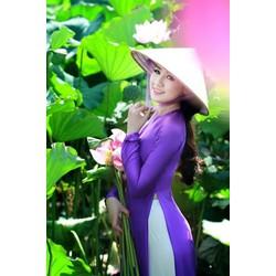 áo dài truyền thống Thái Tuần