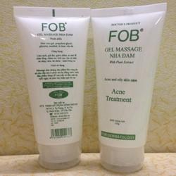 Sữa rửa mặt nha đam FOB trị mụn dành cho da nhạy cảm