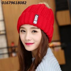 nón len nữ Because model Hàn quốc mới nhất HNNL101