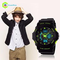 Đồng hồ Bé Trai Skmei 1008 Size Trung DHA454-D1496 - Kim Xanh Lá