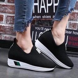 giày mọi độn đế nữ