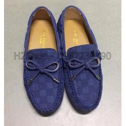 Giày Lười Nơ Da Lộn Mới MT021