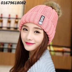 nón len nữ Because   model Hàn quốc mới nhất HNNL100
