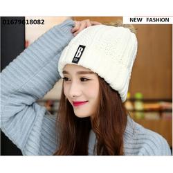 nón len nữ Because model Hàn quốc mới nhất HNNL104