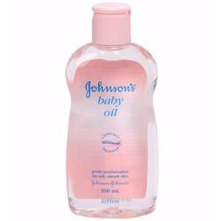Dầu massage và dưỡng ẩm Johnson Baby Oil 200ml THAILAN