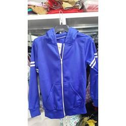 áo khoác màu xanh coban