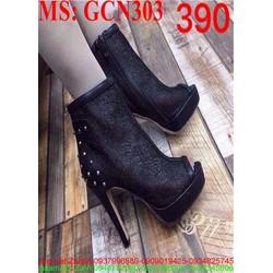 Giày cao gót boot