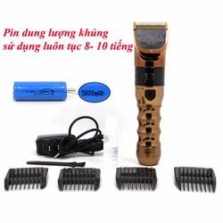Tông đơ cắt tóc - Tông đơ chuyên nghiệp pin khủng B60