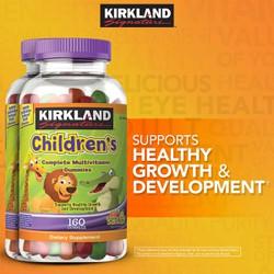 Kẹo dẻo bổ sung đa VItamin tổng hợp Complete Gummy cho trẻ Kirkland