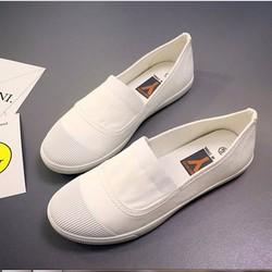 C109 Giày Slip on Vải Đế Mềm