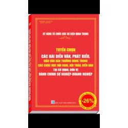 sách: kỹ năng tổ chức sự kiện tuyển tập bài diễn văn phát biểu văn bản